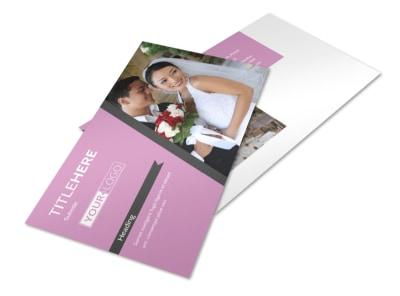 Wedding Service Venue Postcard Template 2 preview