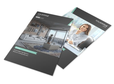 Furniture Store Flyer Template 3