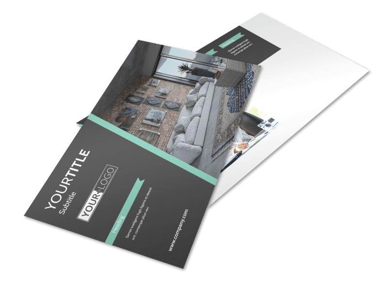 Furniture & Decor Postcard Template Preview 4