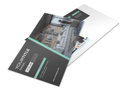 Furniture Store Postcard Template preview