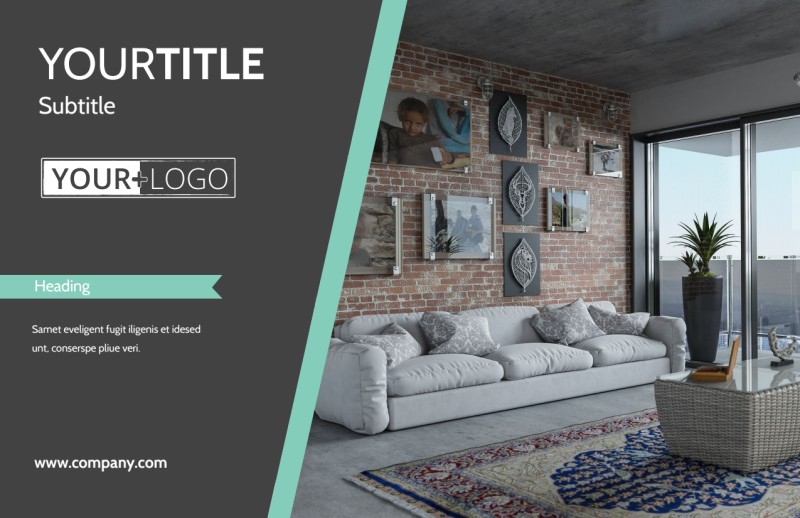 Furniture & Decor Postcard Template Preview 2