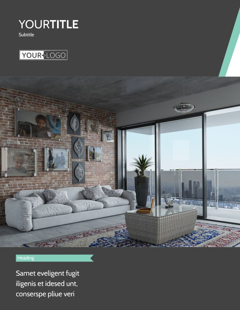 Furniture & Decor Flyer Template Preview 2