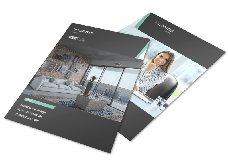 Furniture & Decor Flyer Template Preview 1
