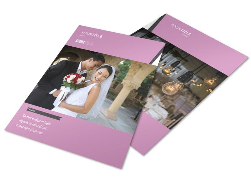 Wedding Service Venue Flyer Template Preview 4