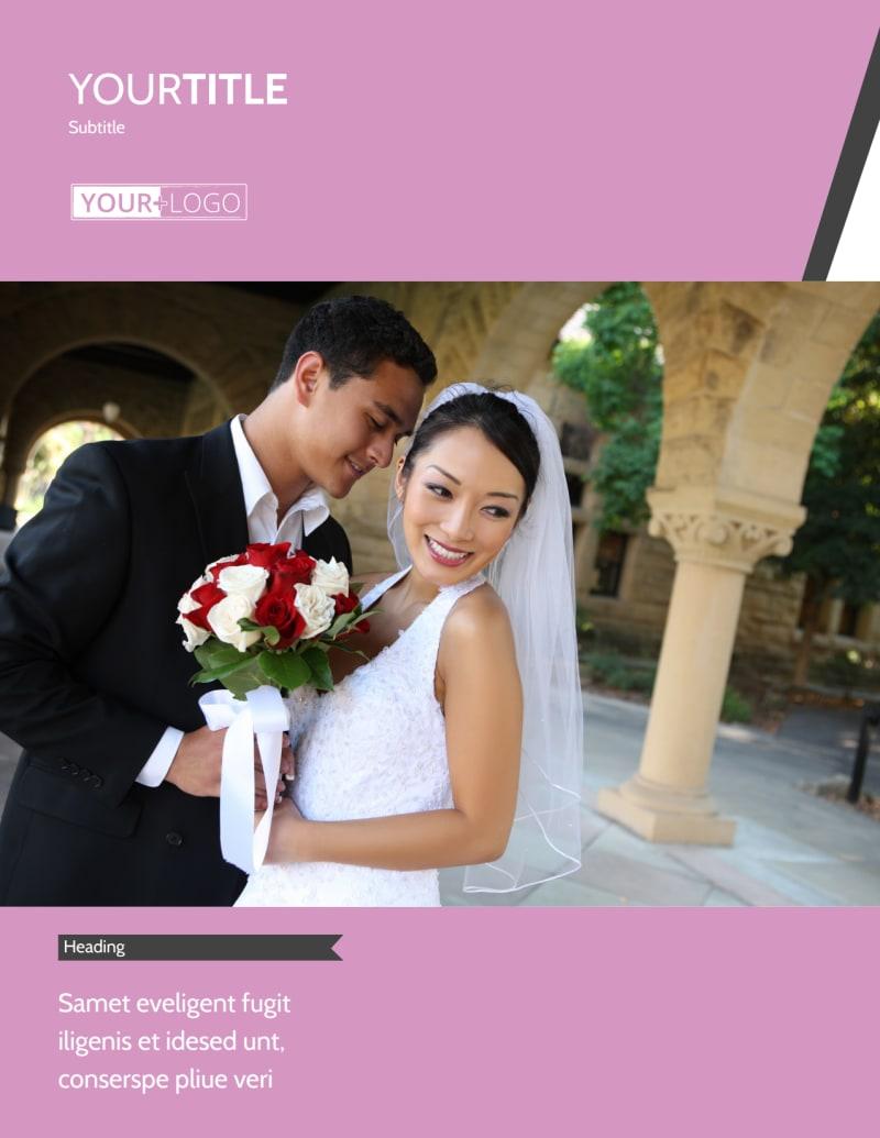 Wedding Service Venue Flyer Template Preview 2