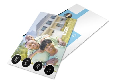 Financial Planner & Consultant Postcard Template 2 preview