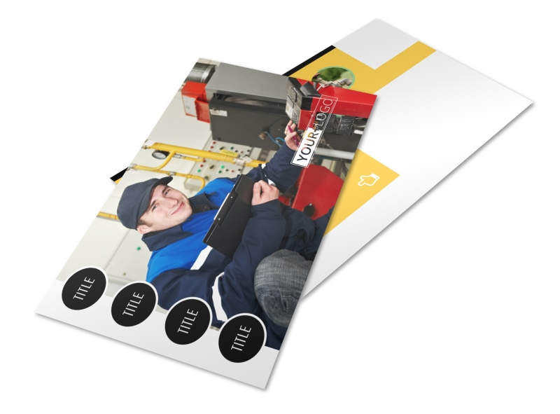 Plumbing Services Postcard Template 2