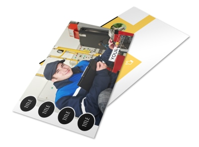 Plumbing Services Postcard Template 2 preview