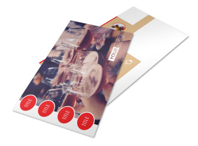 Surprise Office Party Postcard Template 2 preview