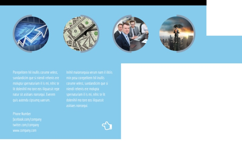 Financial Planning Postcard Template Preview 3
