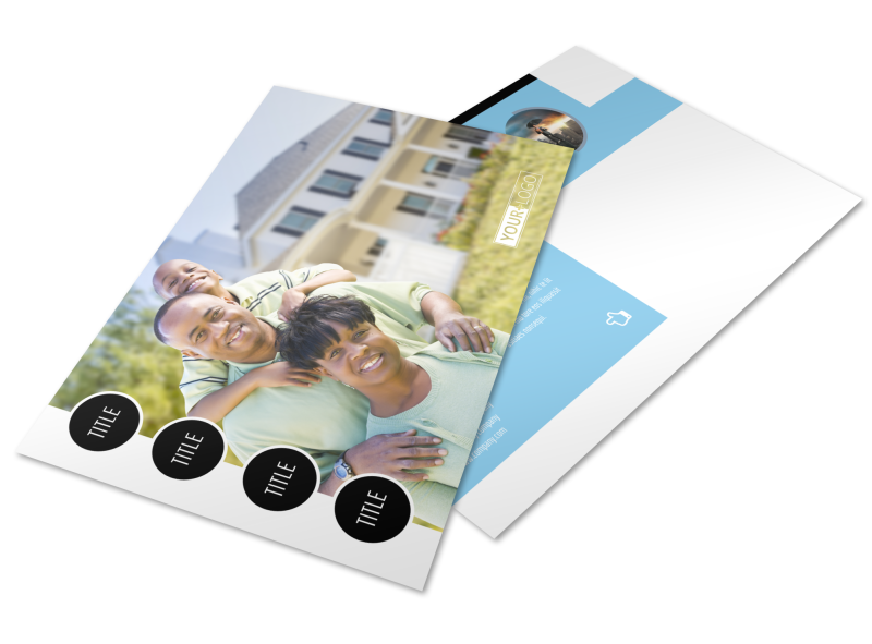Financial Planning Postcard Template Preview 1