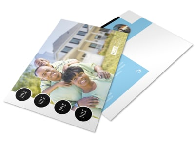 Financial Planner & Consultant Postcard Template preview