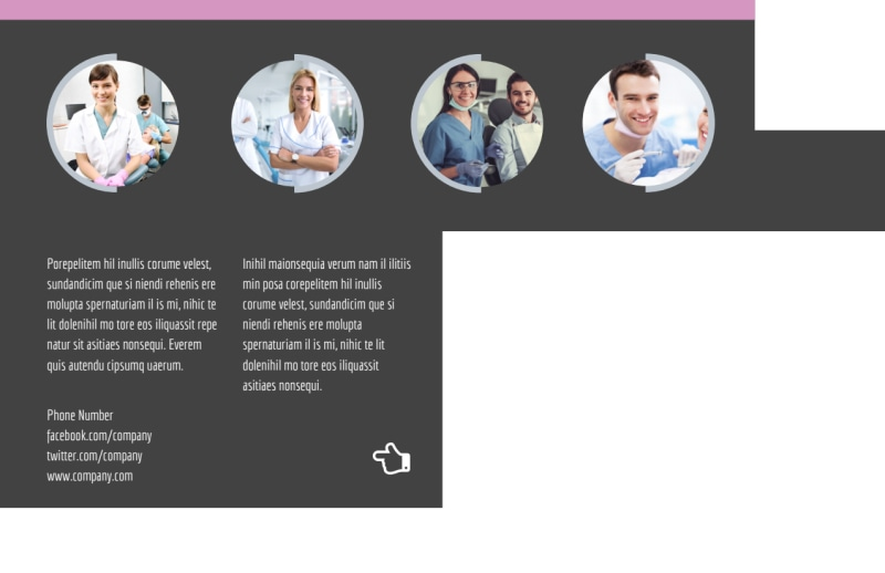 Teeth Whitening Technology Postcard Template Preview 3