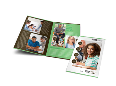 Tutoring Center Bi-Fold Brochure Template