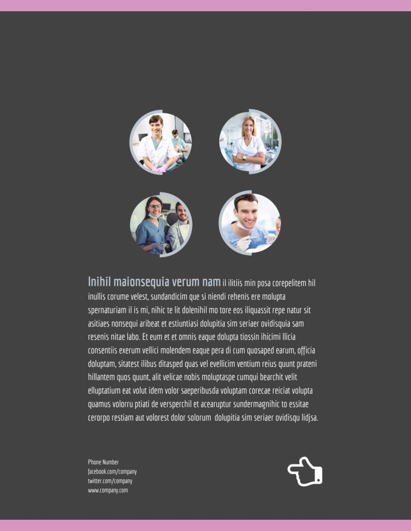 Teeth Whitening Technology Flyer Template Preview 3