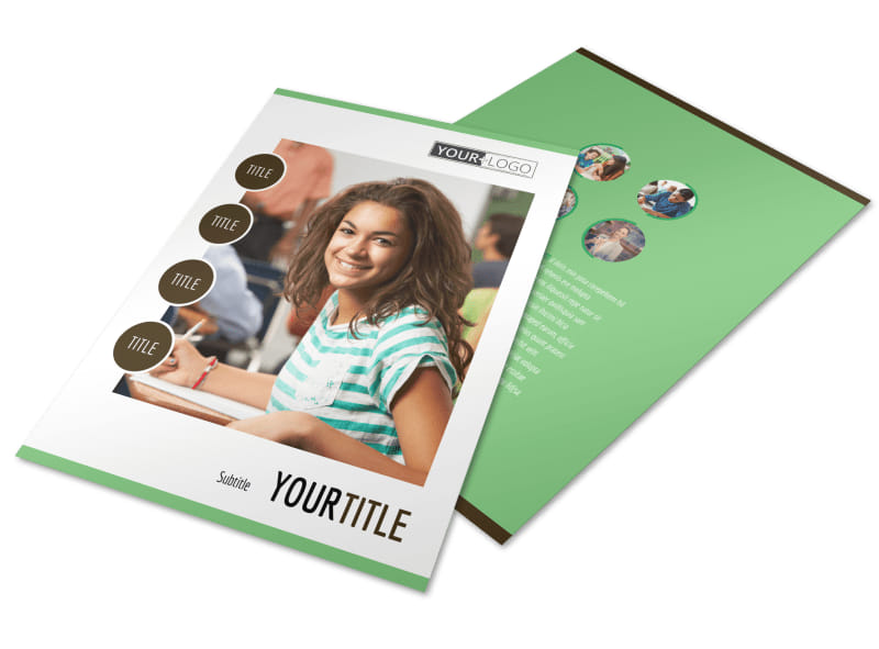 Tutoring Center Flyer Template Preview 4