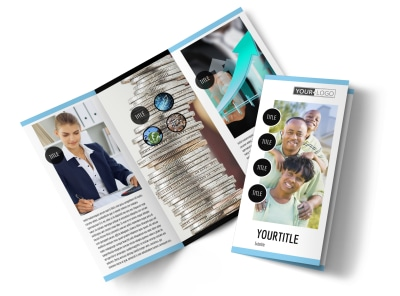 Financial Planner & Consultant Brochure Template preview