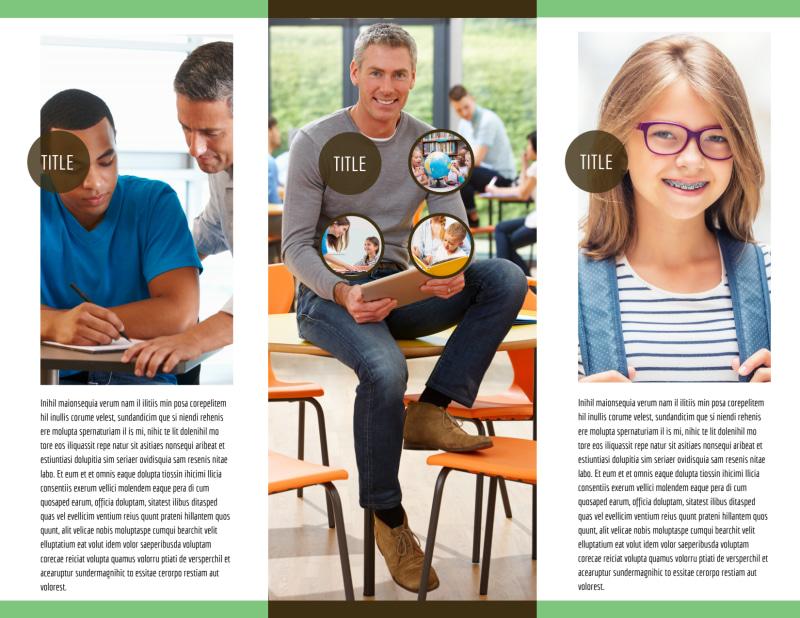 Tutoring Center Brochure Template Preview 3