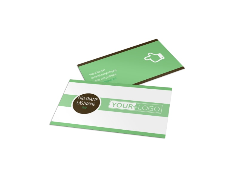 Tutoring Center Business Card Template