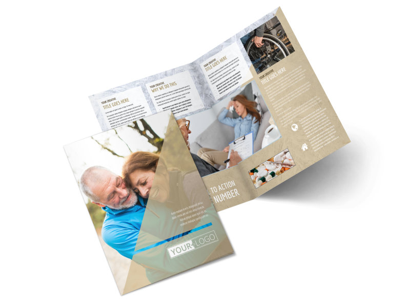 Medical Insurance Company Brochure Template 2