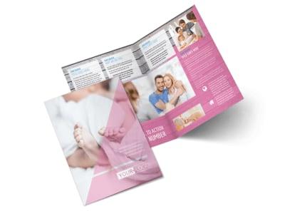 Fertility Clinic Bi-Fold Brochure Template 2