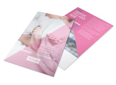 Fertility Clinic Flyer Template 3
