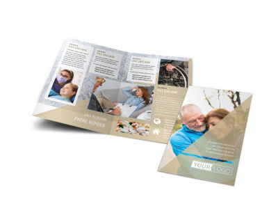 Medical Insurance Bi-Fold Brochure Template