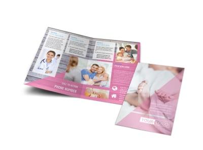 Fertility Clinic Bi-Fold Brochure Template