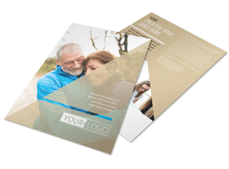 Medical Insurance Flyer Template Preview 1