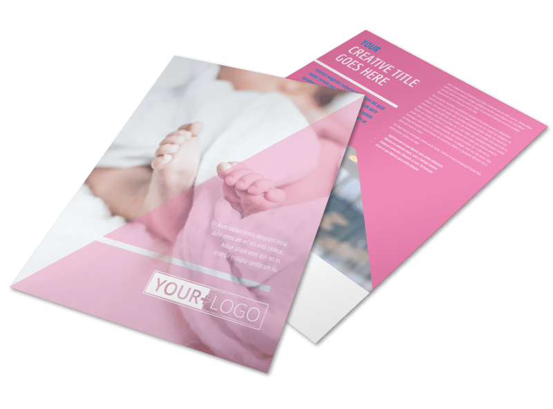 Fertility Clinic Flyer Template Preview 1
