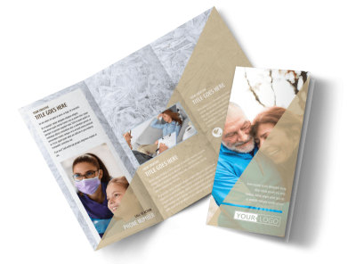 Medical Insurance Tri-Fold Brochure Template preview