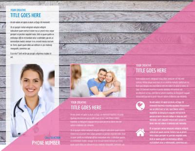 Fertility Clinic Brochure Template Preview 2