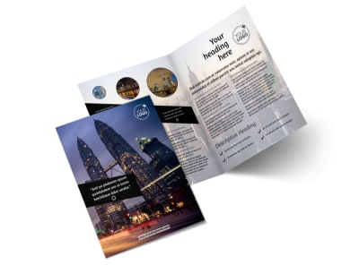 Architecture & Design Bi-Fold Brochure Template 2 preview