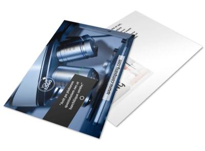 Advanced Medical Technology Postcard Template 2