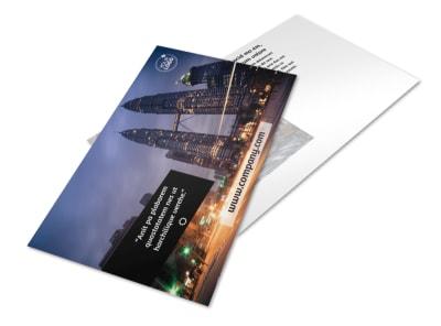Architecture & Design Postcard Template 2 preview