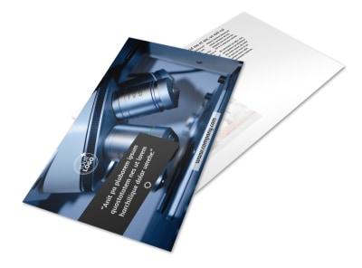 Advanced Medical Technology Postcard Template