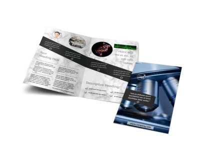 Advanced Medical Technology Brochure Template – Technology Brochure Template