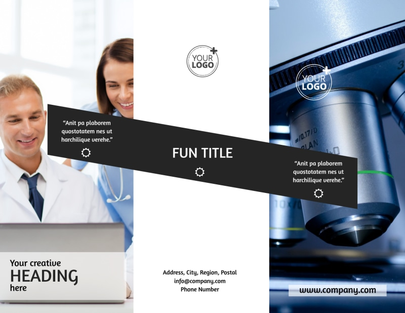 Advanced Medical Technology Brochure Template Preview 2