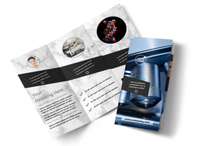 Advanced Medical Technology Tri-Fold Brochure Template