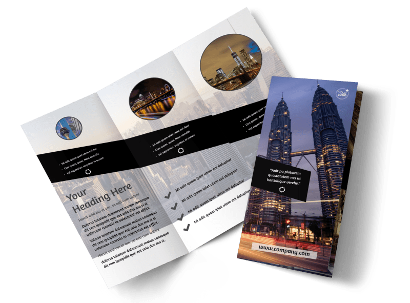 Architecture & Design Brochure Template Preview 1