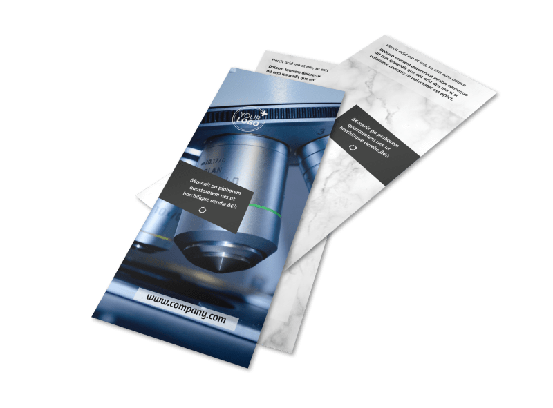 Advanced Medical Technology Flyer Template Preview 1