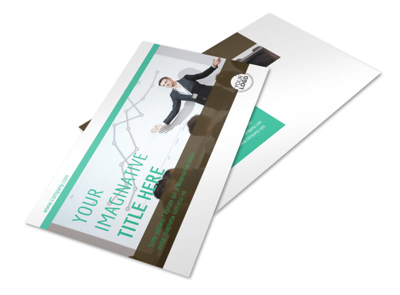 Real Estate Conference Postcard Template 2