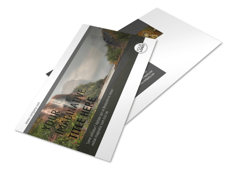 Art Exhibit Postcard Template 2