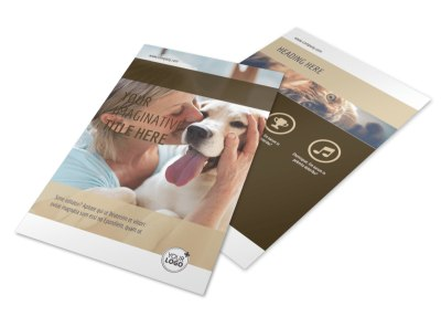 Pet Rescue Flyer Template 3