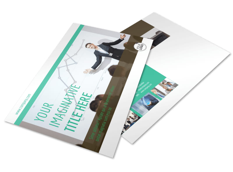 Real Estate Conference Postcard Template