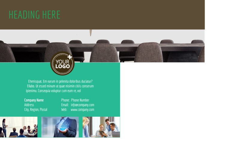 Real Estate Conference Postcard Template Preview 3