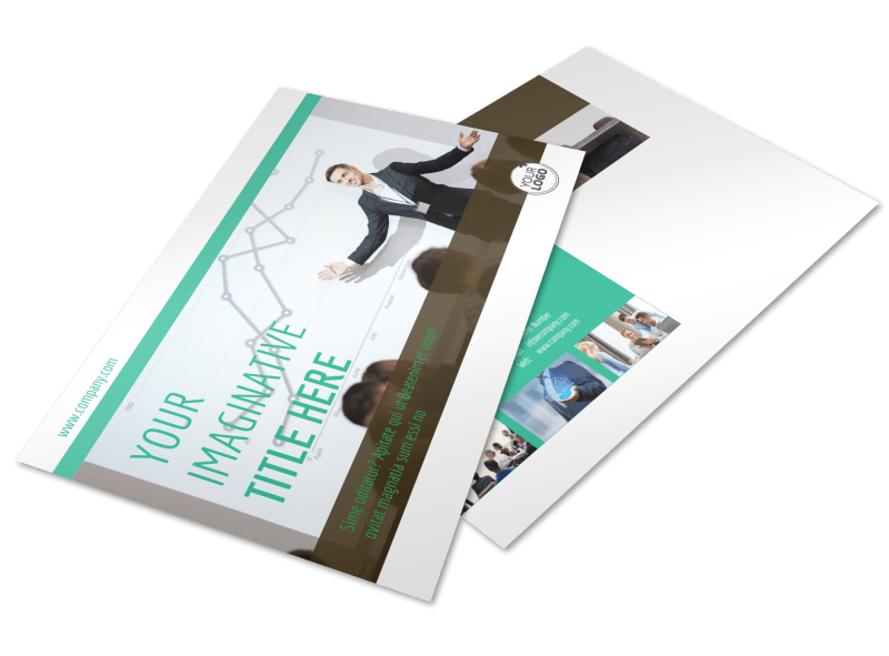 Real Estate Conference Postcard Template Preview 1