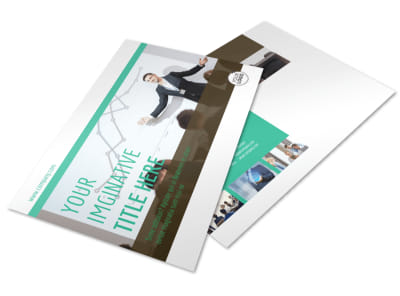 Real Estate Conference Postcard Template preview