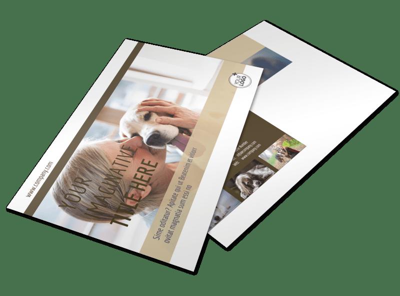 Pet Rescue Postcard Template Preview 1