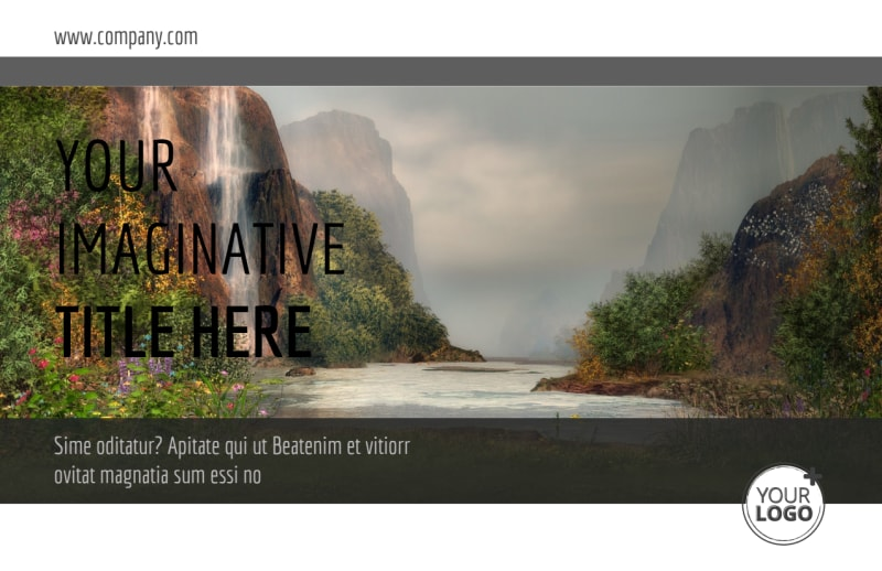 Art Exhibit Postcard Template Preview 2